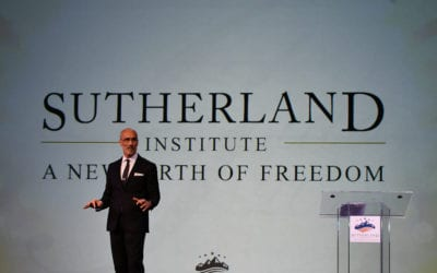 Arthur Brooks explains the biggest problem in American politics at Sutherland Institute's 2018 annual gala