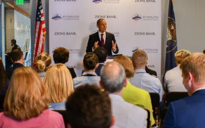 Transcript: Sutherland's Congressional Series event with Rep. John Curtis and visiting scholar Mary Hasson