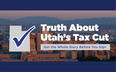 Sutherland launches information campaign: The truth about Utah's tax cut