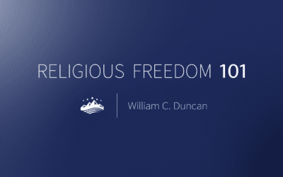 Sutherland Institute launches new series: Religious Freedom 101