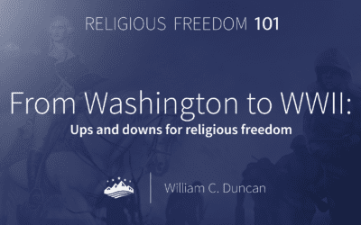 From Washington to WWII: Ups and downs for religious freedom