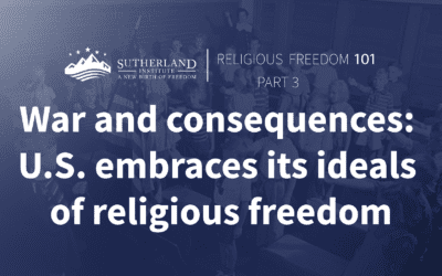 War and consequences: U.S. embraces its ideals of religious freedom